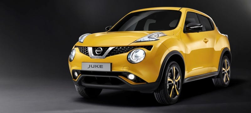 Illustration for article titled Oh Good, Nissan Understands The Juke Needs To Be Weird
