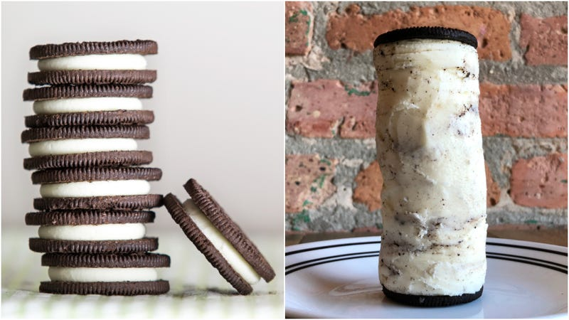 Incredible Oreo Stuf tower sculpted by Kevin Pang