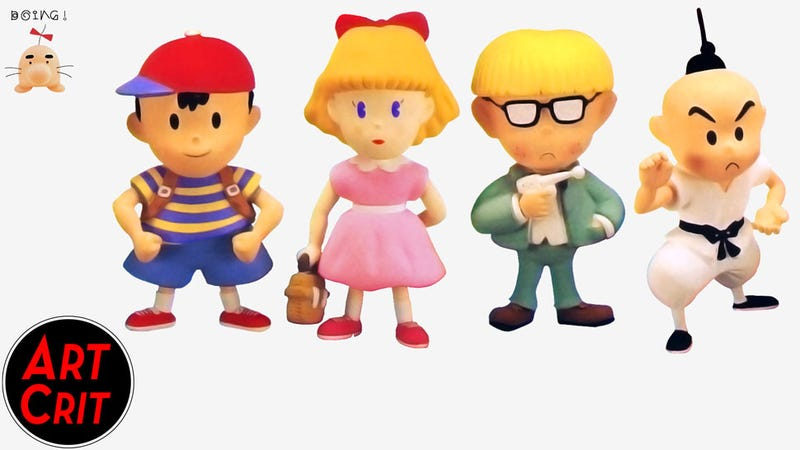 Illustration for article titled Show Us What You Love and Hate About Earthbound's Character Design