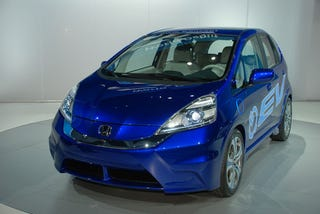 Illustration for article titled Honda Plans Electric Fit For 2012