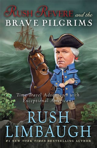 Illustration for article titled And the Children's Choice Author of the Year is... Rush Limbaugh?