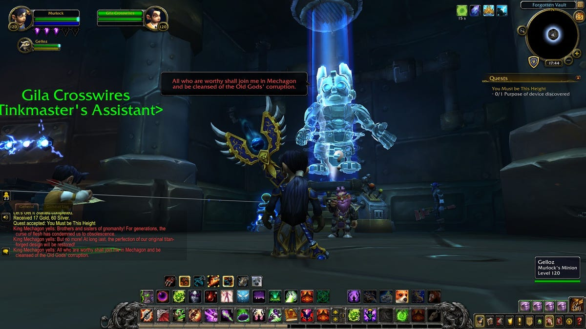 World Of Warcraft's New Cyber-Gnome Wonderland Is The Best Place On