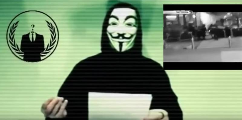 Anonymous comienza a filtrar datos de terroristas después de declarar la guerra a ISIS