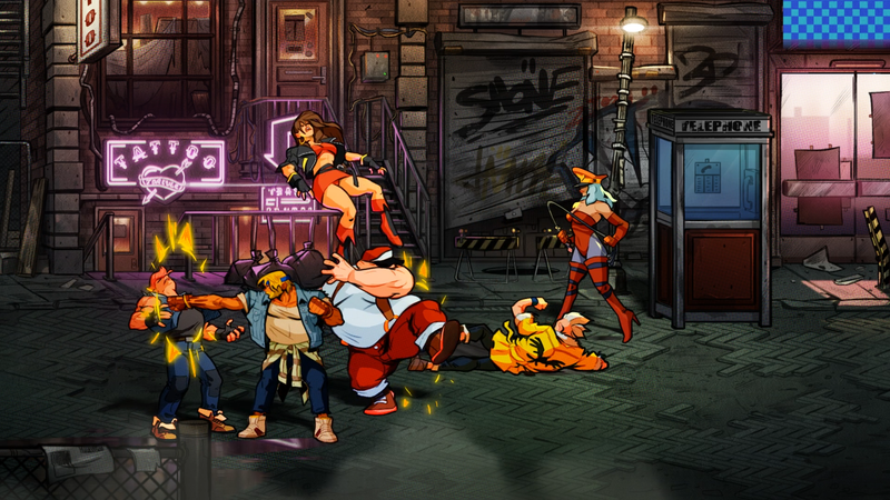 Illustration for article titled Smashing Punks Feels Great InStreets Of Rage 4
