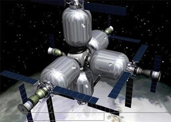 Illustration for article titled NASA's Next Space Station May Need A Puncture Repair Kit