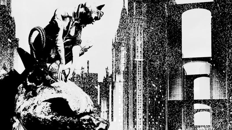 Illustration for article titled Batman Games Look Best in Black and White