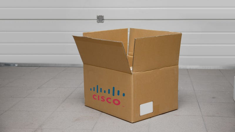 Illustration for article titled Cisco's Going to Ship Its Equipment to Empty Houses to Dodge the NSA