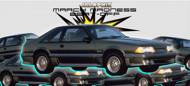 Illustration for article titled Jalopnik March Madness Beat-Off: A V8 In The Top Eight