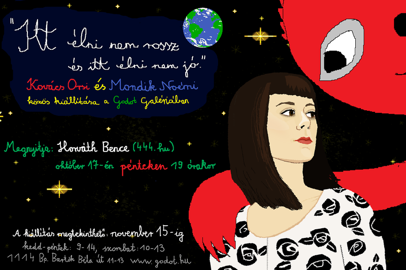 Illustration for article titled Együtt állít ki a két leghíresebb magyar Tumblr-grafikus