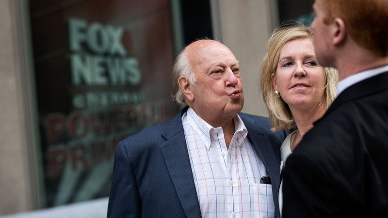 Illustration for article titled Roger Ailes to put his bullshit into book form