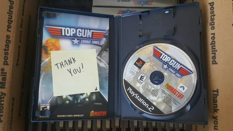 Illustration for article titled Someone Bought The Most Depressing Top Gun Game Collection