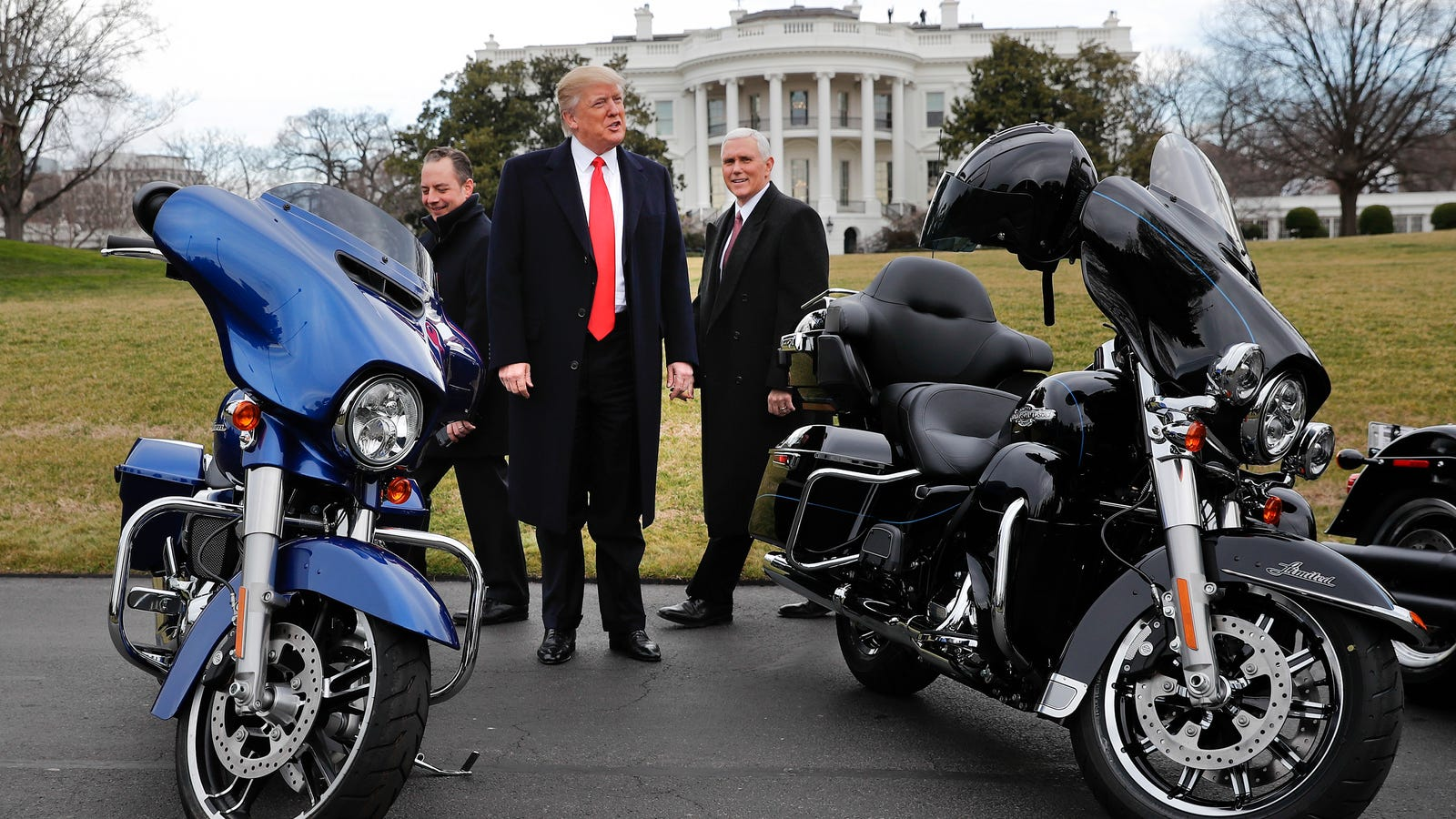 president trump was right about a 100 percent tariff on harley davidson in india sort of. Black Bedroom Furniture Sets. Home Design Ideas