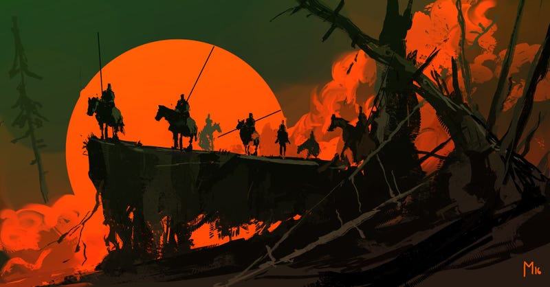 Illustration for article titled Sunset Riders