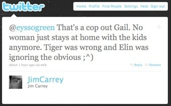 Illustration for article titled Jim Carrey Continues To Blame Elin Nordegren, Women In General, On Twitter