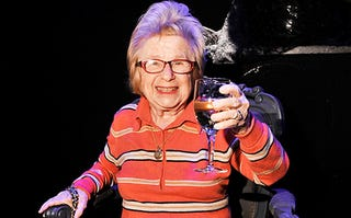 Illustration for article titled Many happy returns, Dr. Ruth!