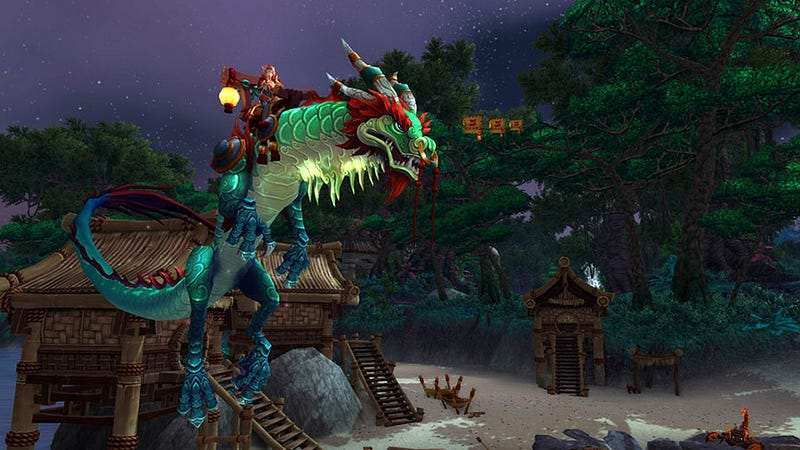 Illustration for article titled There Are New Mounts Coming to Mists of Pandaria. Like Dragons.