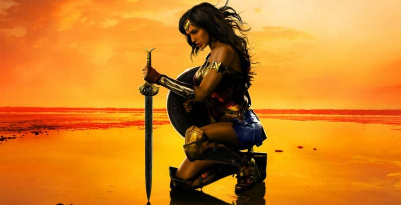 A new Wonder Woman poster. Image: Twitter
