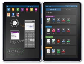 Illustration for article titled Dual-Screen Kno Tablet To Be Available by Year's End