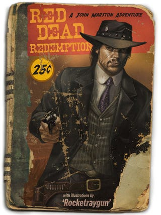 Illustration for article titled Red Dead Redemption Meets Pulp Fiction
