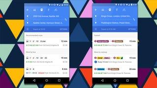 Illustration for article titled Google Maps Begins Showing Live Public Transit Info