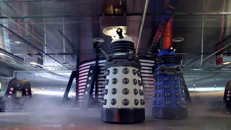 Illustration for article titled It's official: Doctor Who producer says the Daleks are taking a nice rest