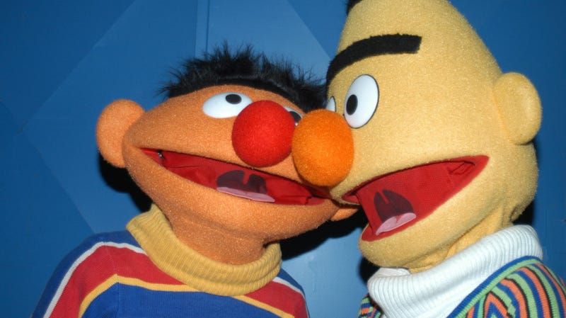Illustration for article titled Bert and Ernie are gay, Sesame Workshop confirms (but only if you want them to be)