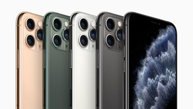 That's at least $5000 bucks worth of iPhone 11 Pro right there.