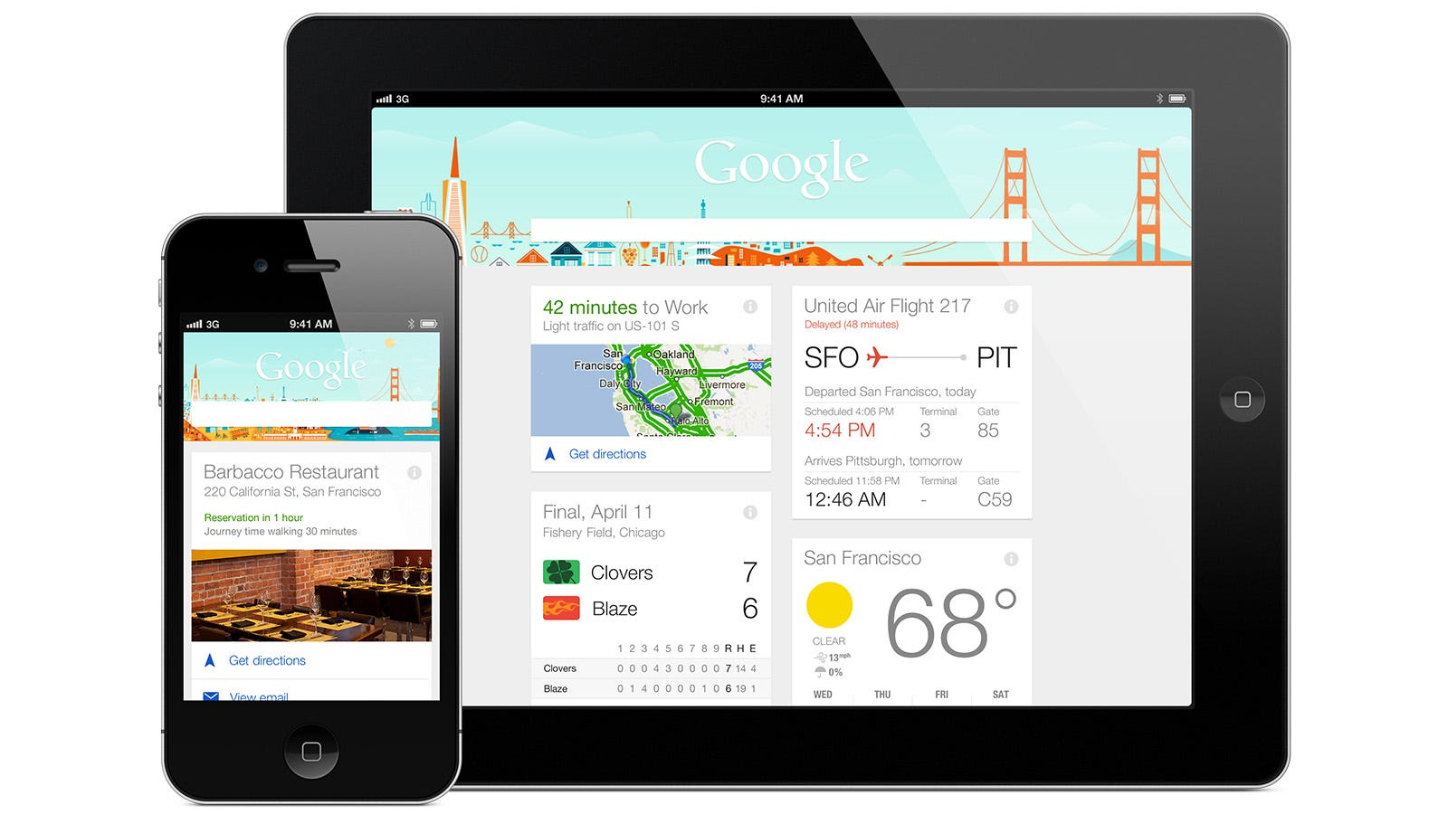 Google Now for iPhone and iPad: It's Here, and It's Great (UPDATED)