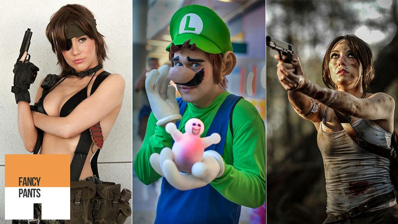 Illustration for article titled This Week's Best Cosplay Includes Dirty Lara, The Other Mario Brother And A Strangely Feminine Metal Gear Outfit
