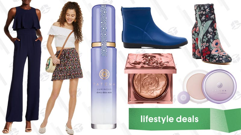 Illustration for article titled Monday's Best Lifestyle Deals: Tatcha, Alice + Whittles, Smashbox, Topshop, and More