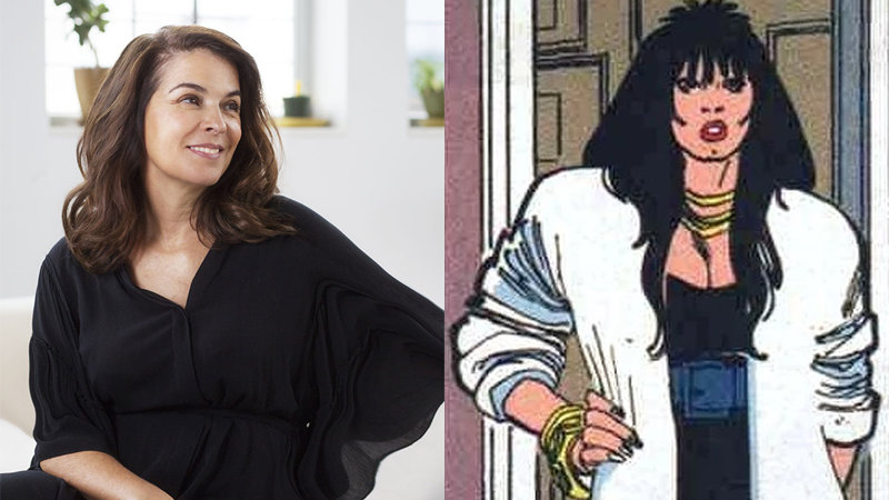 Annabella Sciorra, and Rosalie Carbone as she appeared in Punisher: War Zone #2