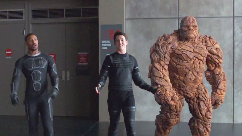 You didn't just let us down, Fantastic Four. You let down IMAX.