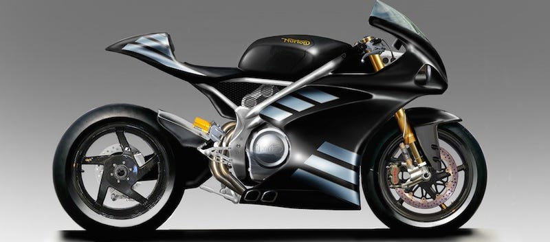 Illustration for article titled Norton Developing 1,200cc V4 Superbike To Compete With Ducati