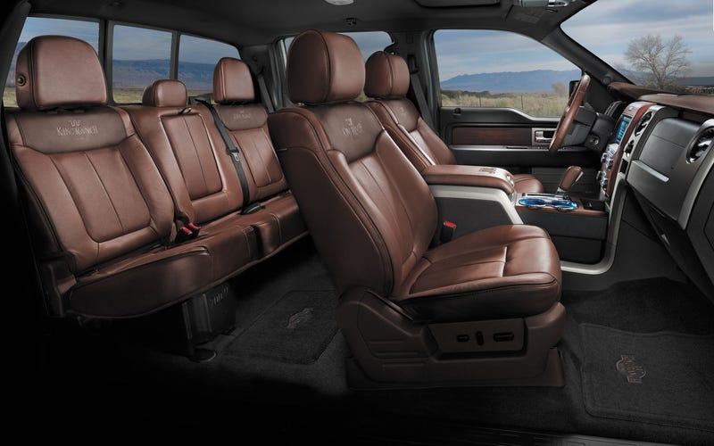 2013 Ford F-150 King Ranch interior