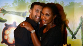 Real Housewives of Atlantacast member Phaedra Parks and husband, Apollo Nida, attend the premiere of Cirque du Soleil Totem at Atlantic Station on Oct. 26, 2012, in Atlanta.Rick Diamond/Getty Images for Cirque du Soleil