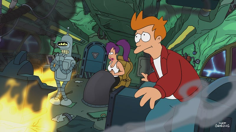 Illustration for article titled This Week's TV: Good News, Everyone: Futurama is back!