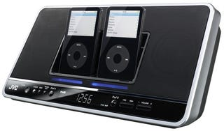 Illustration for article titled JVC's NX-PN7 Dual iPod Dock