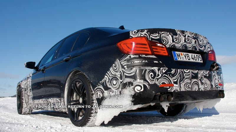 Illustration for article titled 2012 BMW M5: Ice, Ice Baby