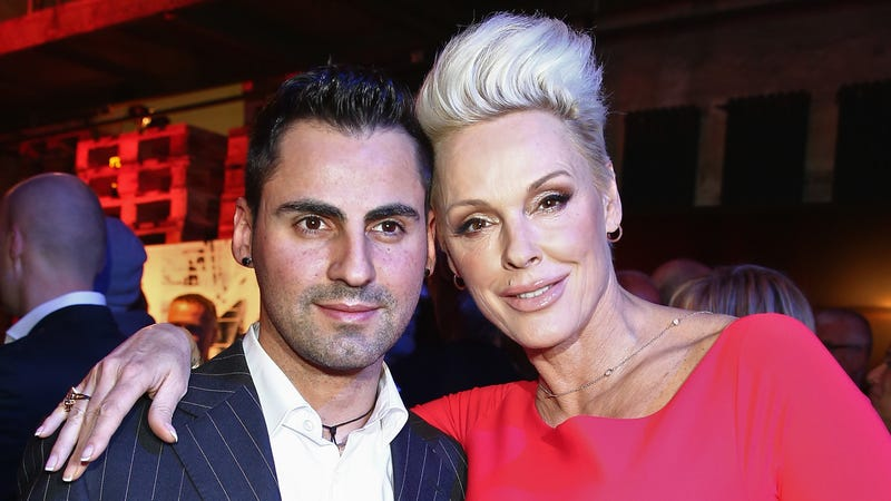 Illustration for article titled Brigitte Nielsen Shares Photos of New Baby Frida Following Shortest Celebrity Pregnancy Ever