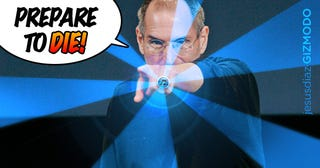 """Illustration for article titled Steve Jobs on iTunes 10 Icon Lambasting: """"We Disagree"""""""