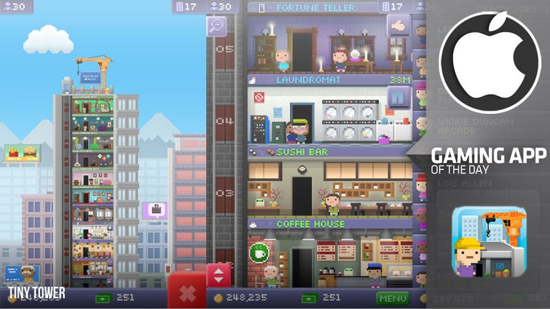 Illustration for article titled Kiss Your Life Goodbye With Tiny Tower