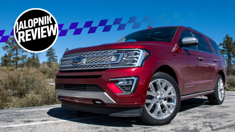 A $77,000 2018 Ford Expedition Is A Very Fine Family Truckster