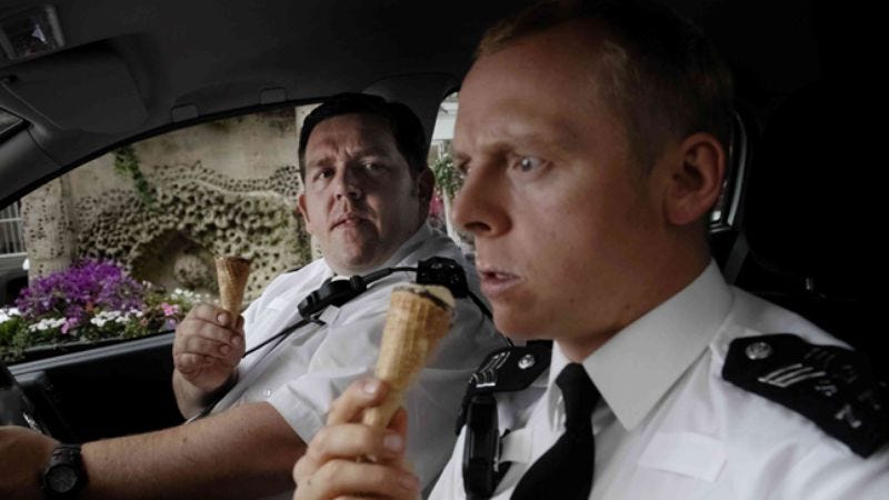 Illustration for article titled Hot Fuzz is everything an action-comedy should be