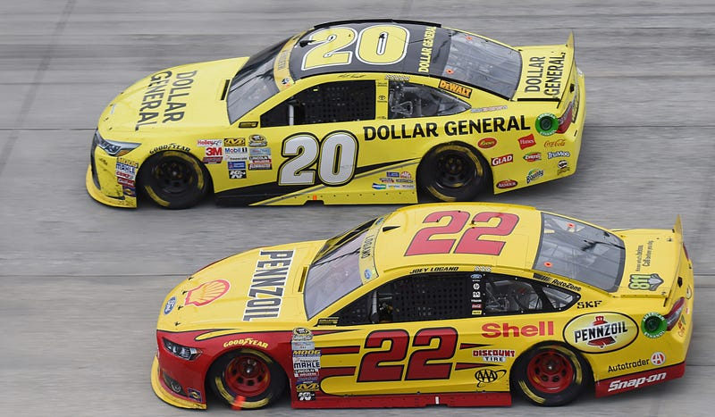 Illustration for article titled NASCAR's Joey Logano May Want To Prepare For A Fight After Talladega