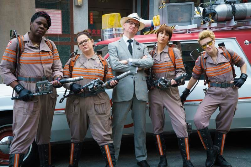 Illustration for article titled Why Paul Feig Dared to Make the NewGhostbusters Movie