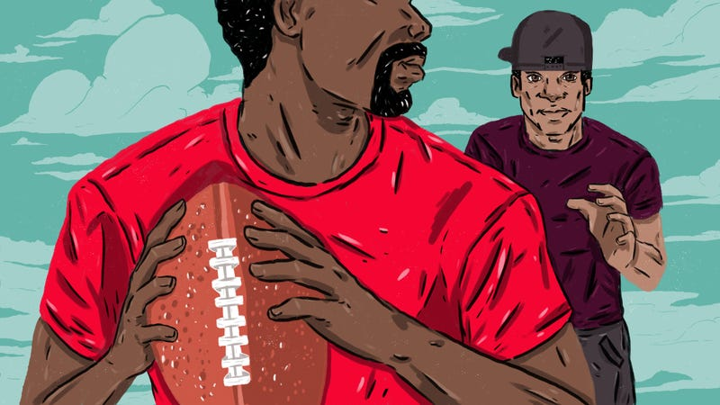 Illustration for article titled Rough-Touch Football Gave Me More Than Just Money And Bruises