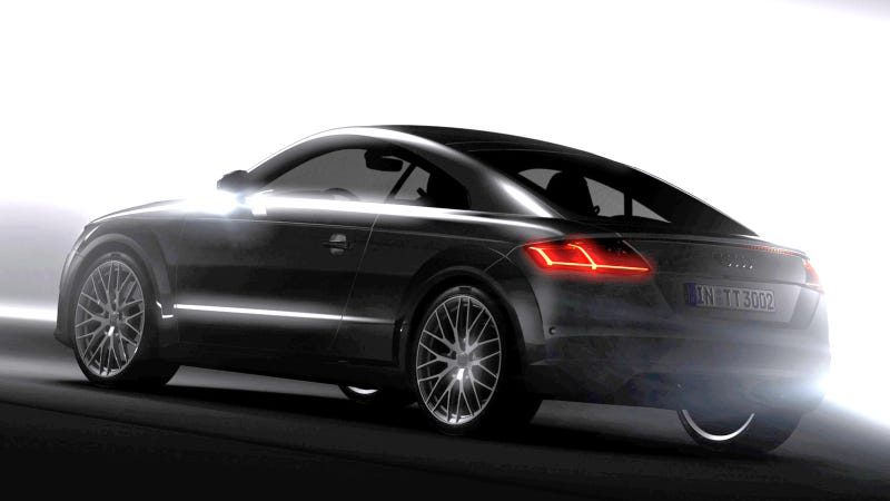 Illustration for article titled 2015 Audi TT: This Is It (Updated)