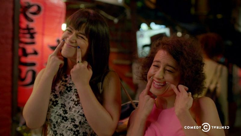 Tv reviews broad city season 2 for Your inner fish summary