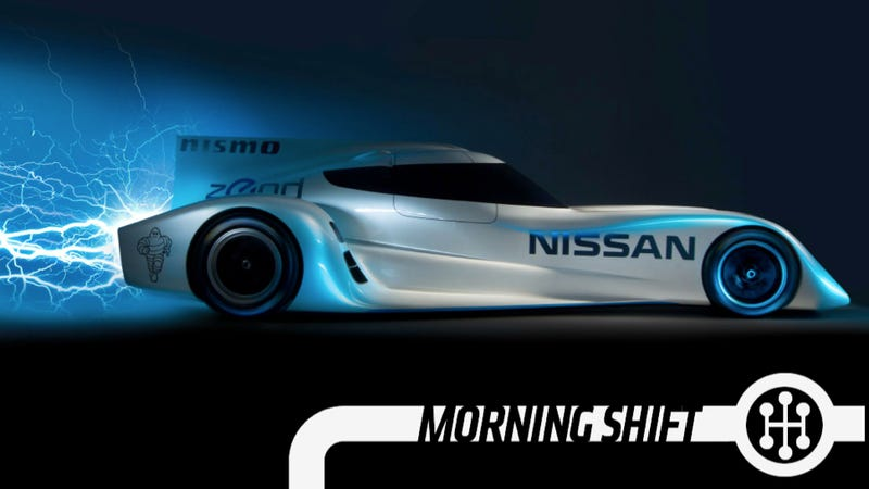 Illustration for article titled The Nissan ZEOD RC Is The World's Fastest Electric Race Car