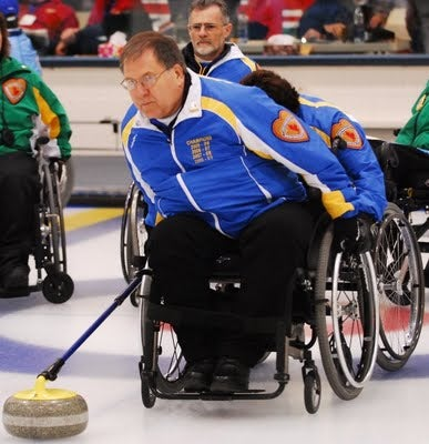 Illustration for article titled Swedish Wheelchair Curling Finally Has Its Doping Scandal